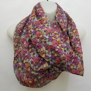 NWT Claire's Infinity Scarf Candy Hearts